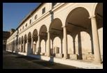 arcades grand cloitre - musée national romain - thermes de Dioclétien