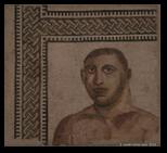 mosaique - musée national romain - thermes de Dioclétien