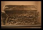 sarcophage - musée national romain - thermes de Dioclétien
