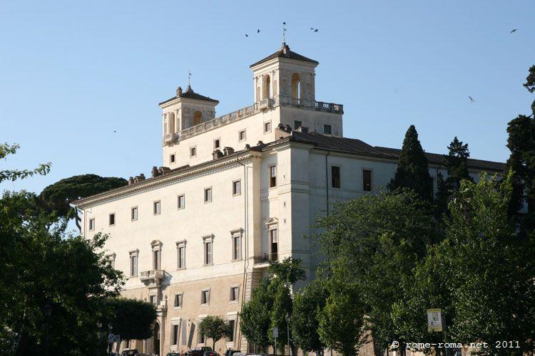 la villa medicis à rome