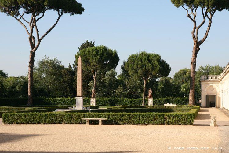 Jardin Villa Medicis Horaires