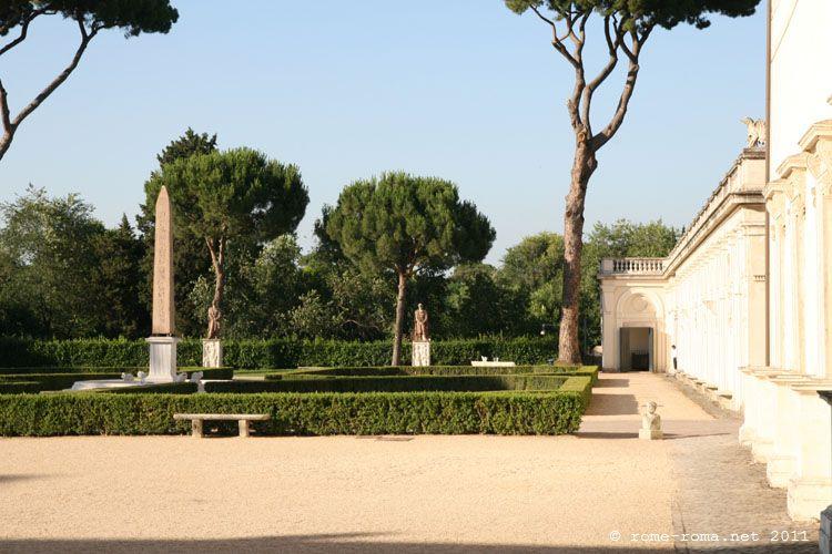 La villa m dicis for Jardin de la villa