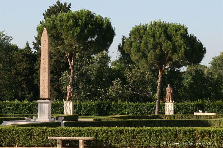 jardins de la villa médicis