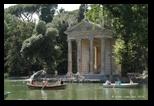 Temple d'Esculape - Parc de la Villa Borghese