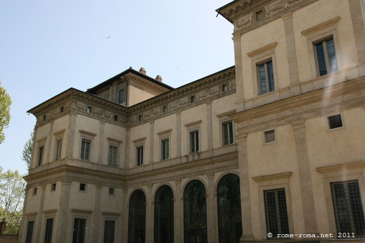 Visite de la Villa Farnesina