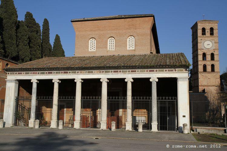 Rome Chrétienne et ses monuments - EUGENE DE LA GOURNERIE - 1867 Basilica_san_lorenzo_6412