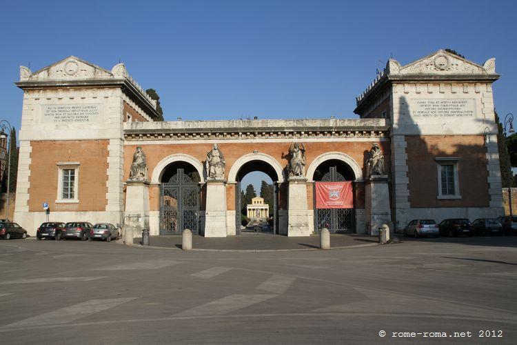 Cimetière monumental de Campo Verano
