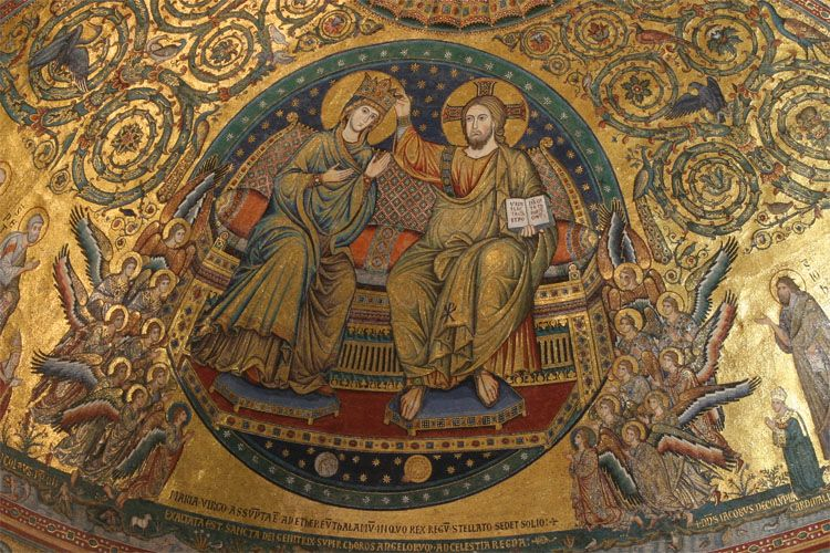 mosaiques - santa maria maggiore