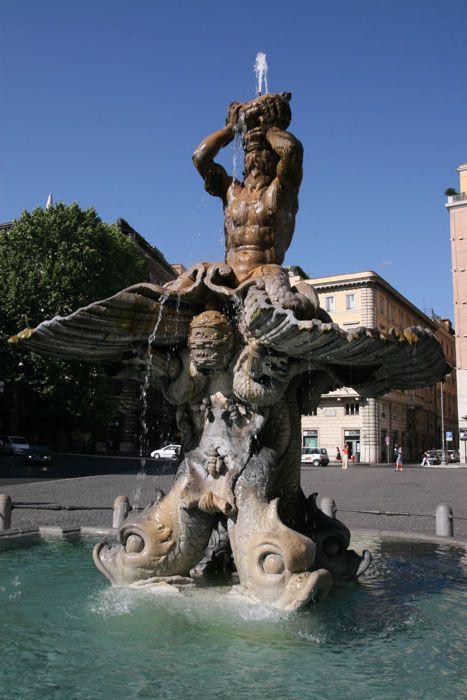 Fontaine du triton