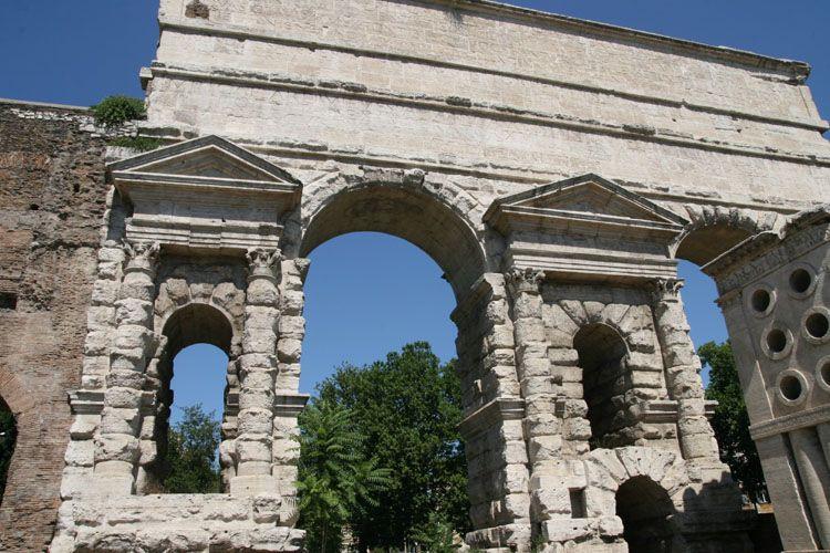 Murs d 39 aur lien et portes de rome - Porte a roma ...