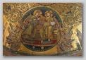 mosaique - couronnement de la vierge - santa maria maggiore