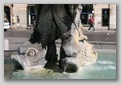 Fontaine du triton à Rome