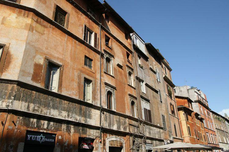 visite du ghetto quartier juif rome. Black Bedroom Furniture Sets. Home Design Ideas