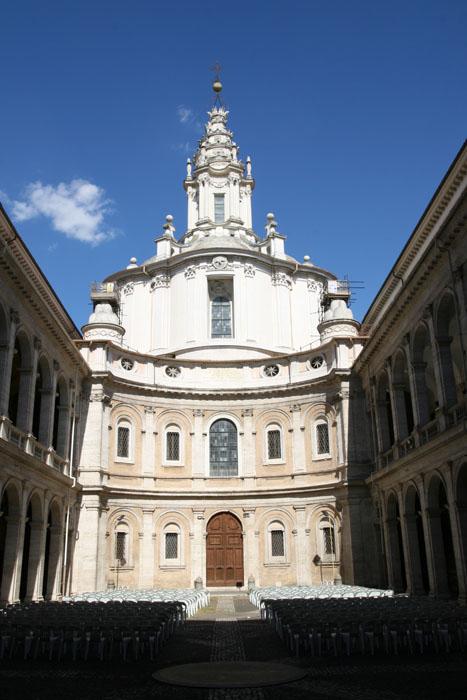 sant'Ivo e palazzo della sapienza
