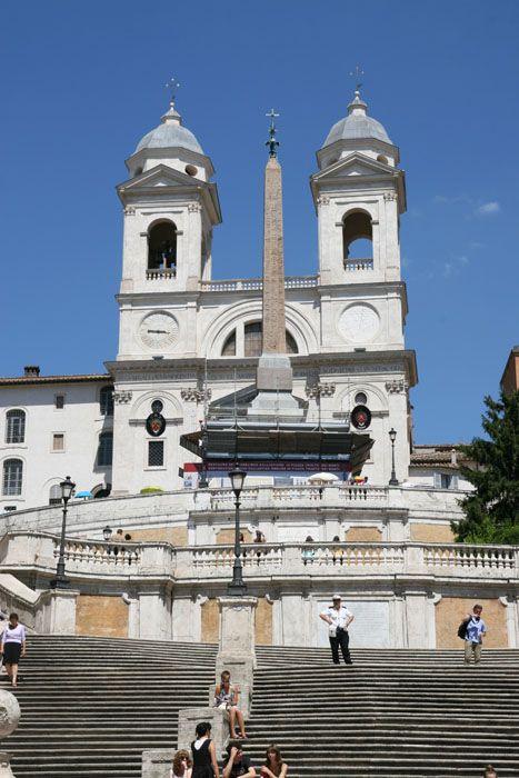 Da Piazza Di Spagna A Villa Borghese