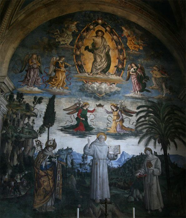 vie de saint bernardin - pinturicchio