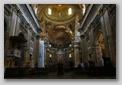 nef de l'église gesù - rome