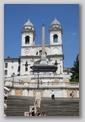 trinité des Monts Place d'Espagne - Rome