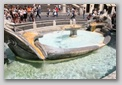 fontaine de la barcaccia, Place d'Espagne - Rome