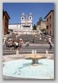 fontaine Place d'Espagne - Rome