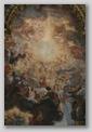 église gesù - peinture trompe l'oeil de la nef