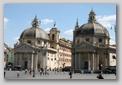 églises de la place du peuple, rome