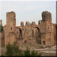 De la colline du Celio aux Thermes de Caracalla