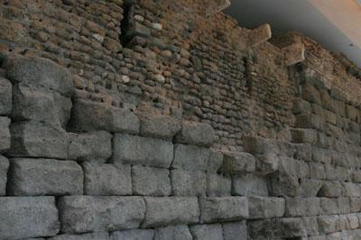 fouilles u capitole - temple de jupiter