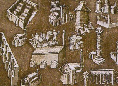 Origine de la fontaine de Trevi