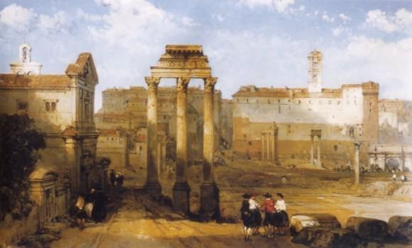 Rome par les artistes, voyage à rome