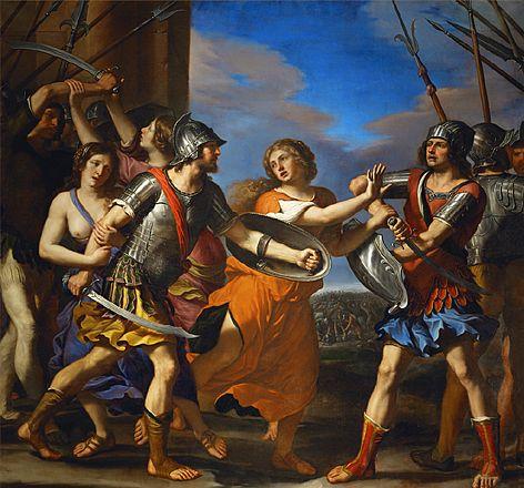 dispute entre romulus et tatius