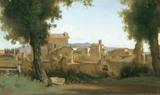 camille corot - parc farnese