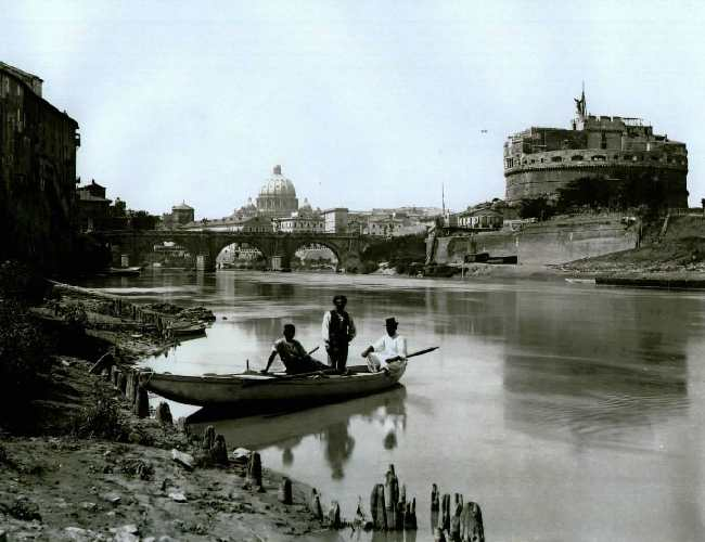 Old photos of the tiber