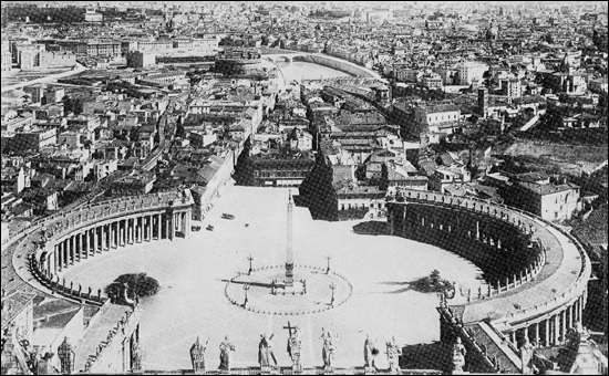 Old photos of the vatican