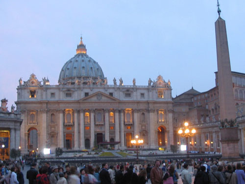 saint peter square in rome