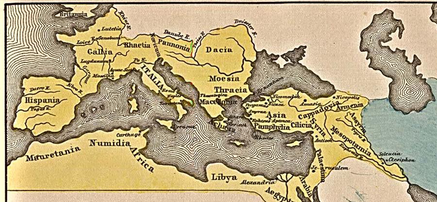 Cartina Antica Roma.Mappe Dell Impero Romano Rome Roma