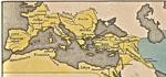 carte empire romain