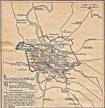 carte rome moyen-age