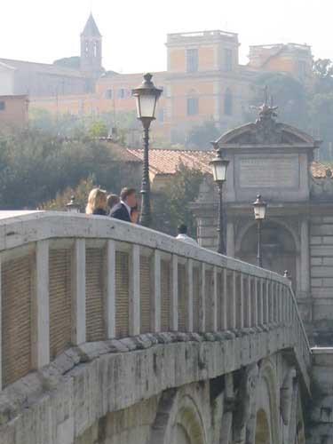 pont sisto à Rome
