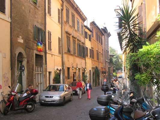 Un tour dans le Trastevere