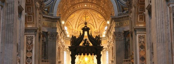 Intérieur basilique Saint-Pierre