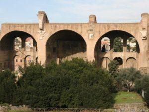 Basilique de Constantin et Maxence