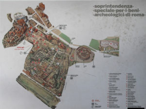 plan forum romain