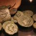 Sous-sol, collection numismatique