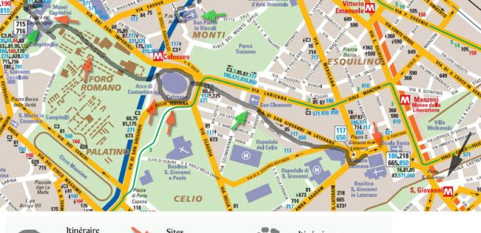 Itinéraire à Rome, deux jours, 1ère partie