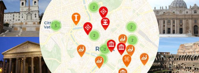 sites-a-voir-rome-carte