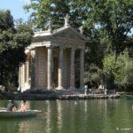 Visita al parco della Villa Borghese
