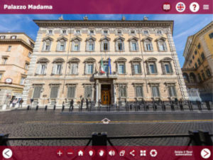 visite virtuelle du palais Madama