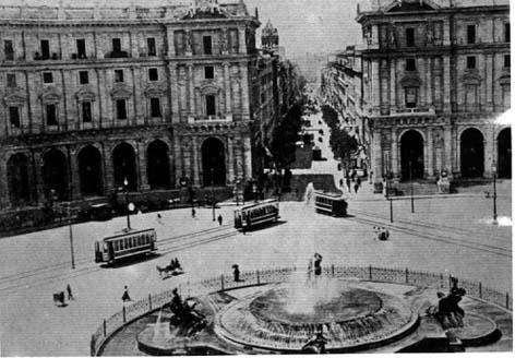 Place de la république, 1908