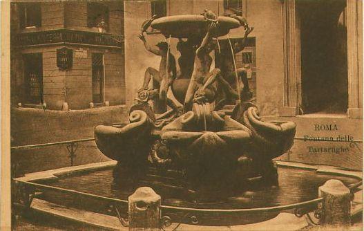 Fontaine des tortues, 1910
